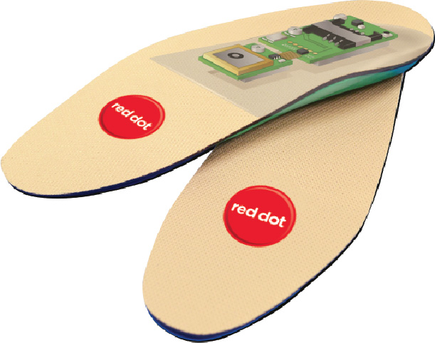 Red Dot GPS SafeSole